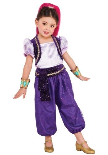 Girls Deluxe Shimmer Costume