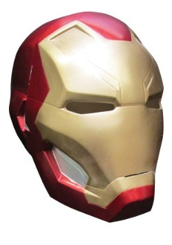 Child Civil War Iron Man 2-Piece Mask