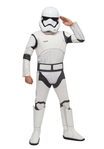 Star Wars The Force Awakens Deluxe Child Stormtrooper