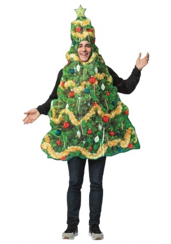 Get Real Christmas Tree Adult Costume