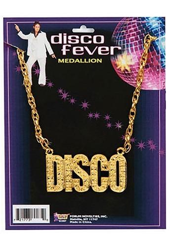Gold Disco Necklace