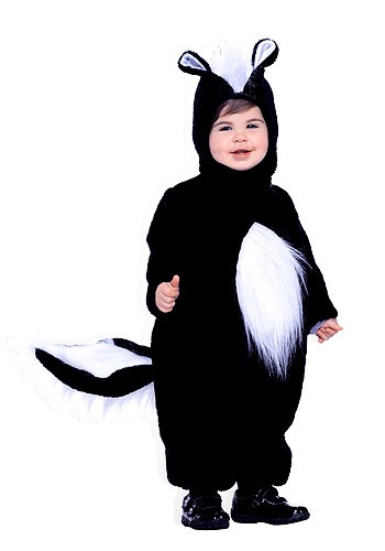 Toddler Skunk Costume