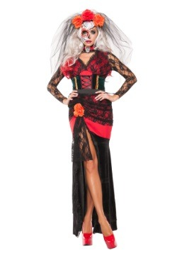 Women's Day of the Dead Darling Costume