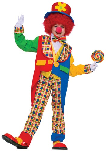 Children's Clown Costume