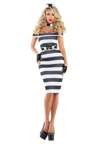 Women's Pinup Prisoner Costume