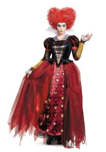 Adult Deluxe Red Queen Costume