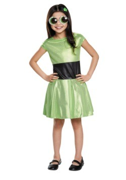 Powerpuff Girls Child Buttercup Costume