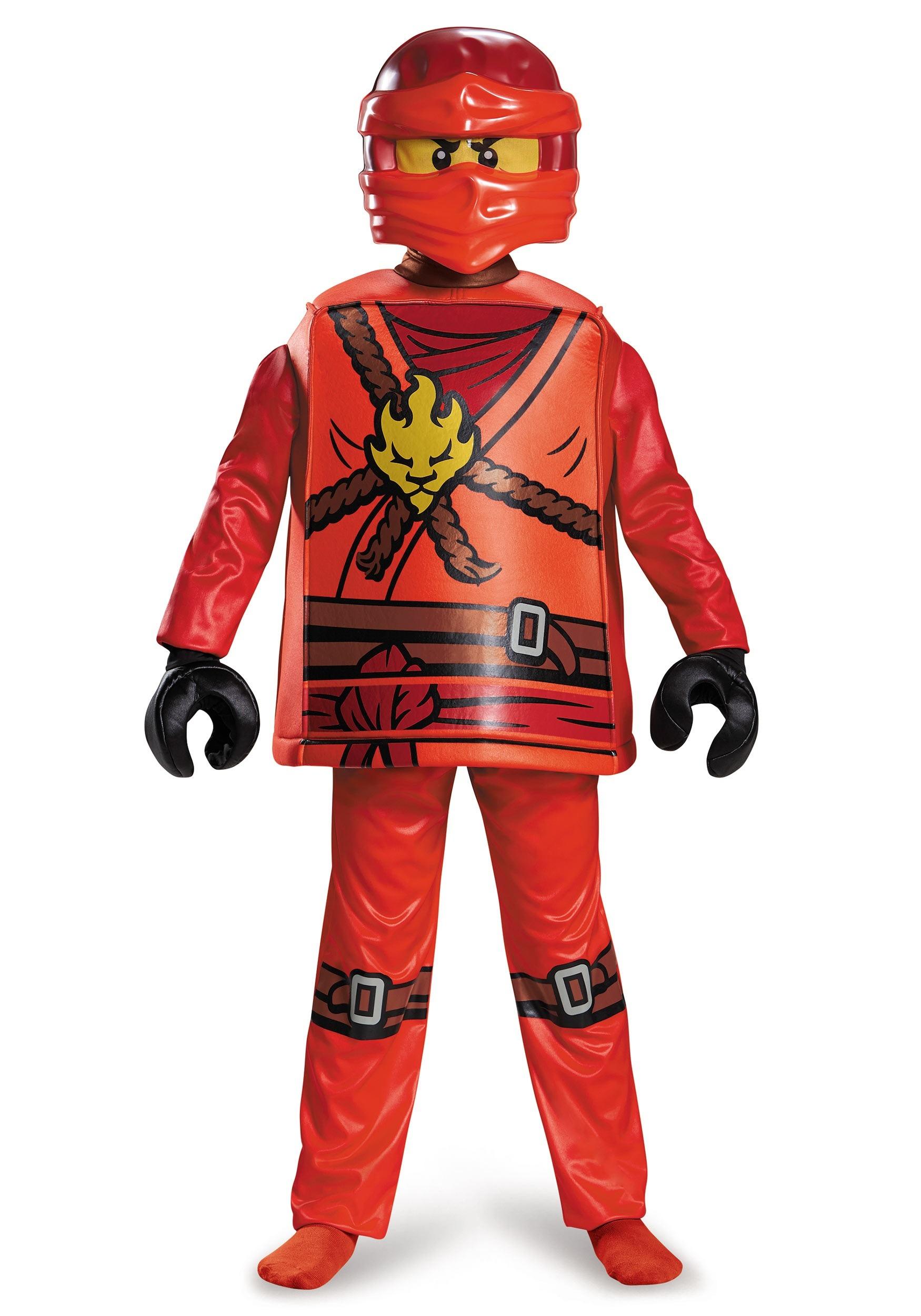 sc 1 st  Halloween Costumes UK & Deluxe Ninjago Kai Boys Costume