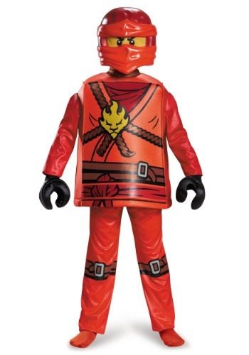 Deluxe Ninjago Kai Boys Costume