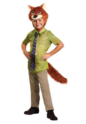 Zootopia Nick Wilde Boys Costume