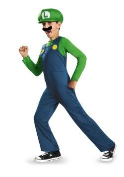 Boys Luigi Classic Costume