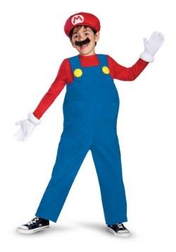 Boys Deluxe Mario Costume