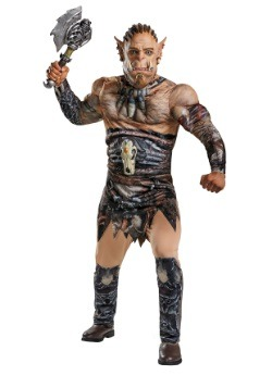 Adult Durotan Plus Size Muscle Costume