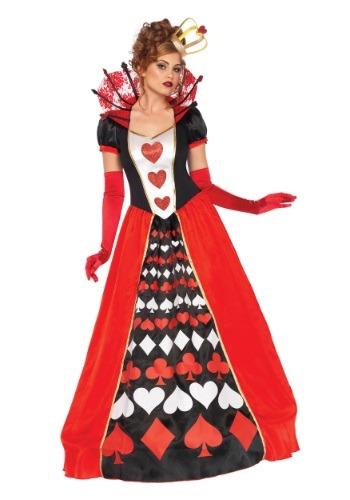 Women's Deluxe Queen of Hearts Costume