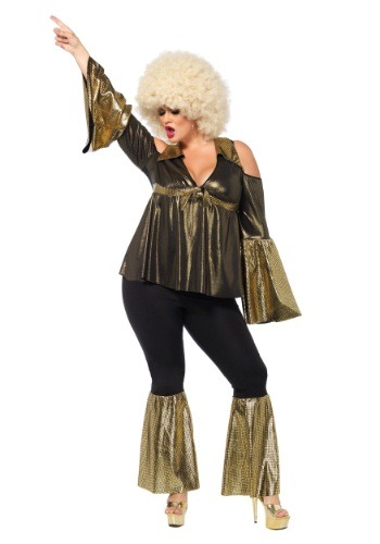Plus Size Disco Diva Costume