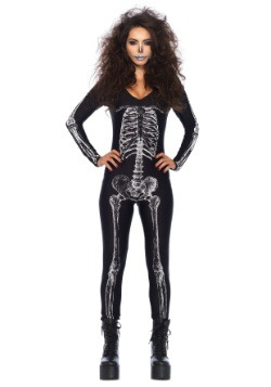 Women's X-Ray Skeleton Catsuit