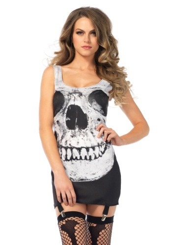 Adult Skull Garter Dress
