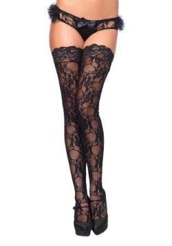 Stay Up Floral Lace Thigh Highs