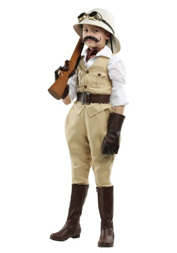 Safari Hunter Boys Costume