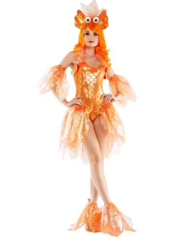 Women's Sexy Goldfish Costume