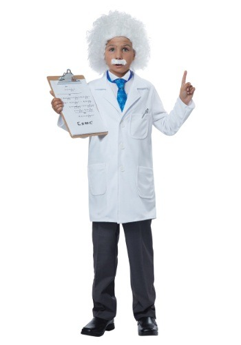 Child Albert Einstein/Physcist Costume