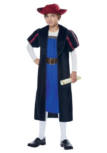 Child Christopher Columbus/Explorer Costume