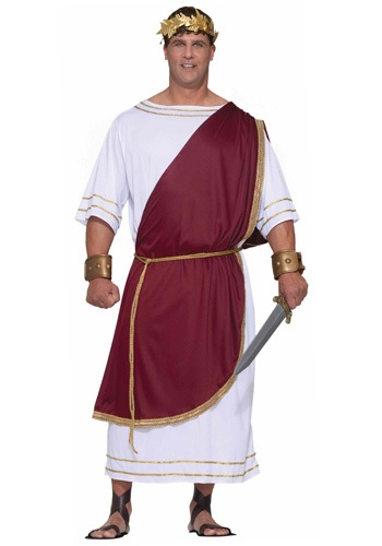 Plus Size Mighty Caesar Costume