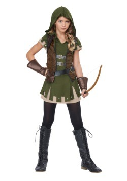 Girl's Miss Robin Hood Costume