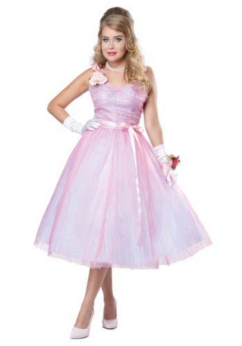 Adult Women's 50's Prom Beauty Costume