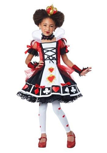 Child Deluxe Queen of Hearts Costume