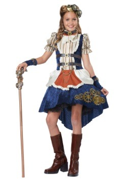 Girl's Steampunk Costume