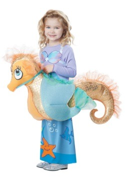 Child Ride a Seahorse Costume