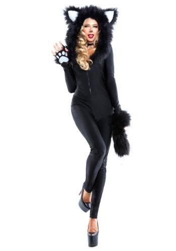 Women's Furry Feline Costume