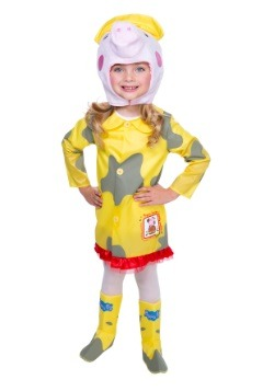 Peppa Pig Raincoat Costume