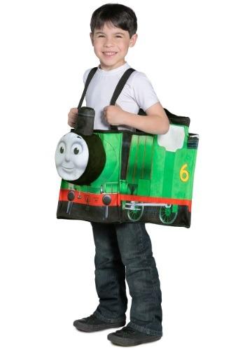 Thomas the Train Percy Ride in Train
