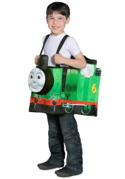 Thomas the Train Percy Ride in Train