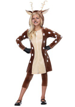 Girls Fawn Costume