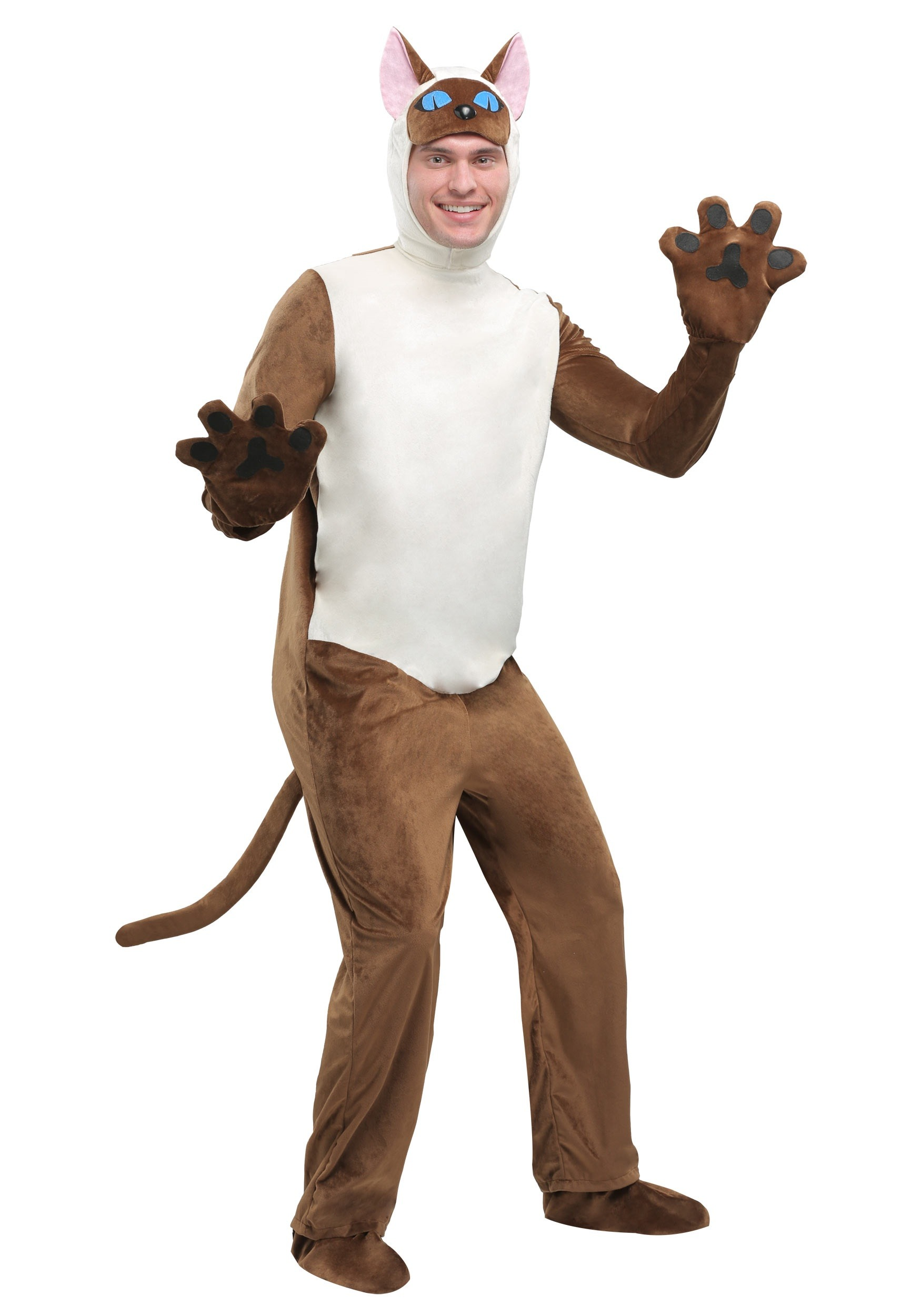 Adult Siamese Cat  sc 1 st  Halloween Costumes UK & Siamese Cat Adult Costume
