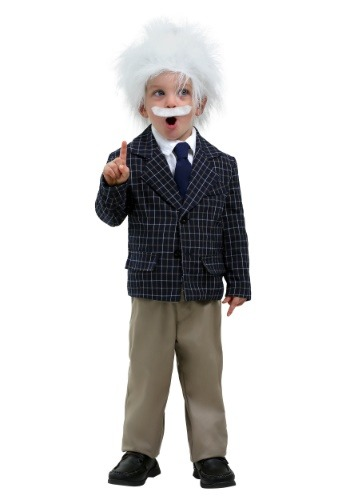 Einstein Toddler Costume