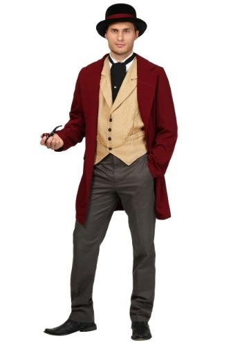 Plus Size Riverboat Gambler Costume