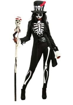 Voodoo Skeleton Womens Costume