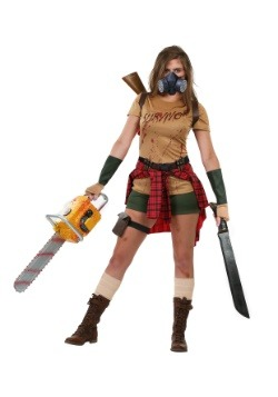 Women's Zombie Survivor Costume