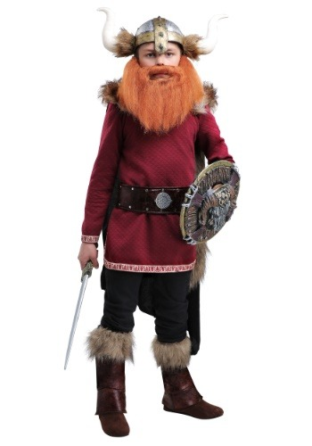 Boy's Burgundy Viking