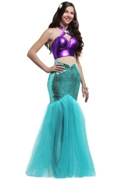 Mystical Mermaid Plus Size Womens Costume
