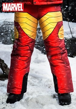 Adult Iron Man Snow Pants