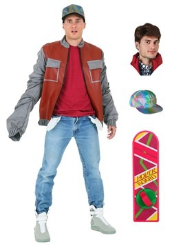 Back to the Future Marty McFly Jacket Costume Package