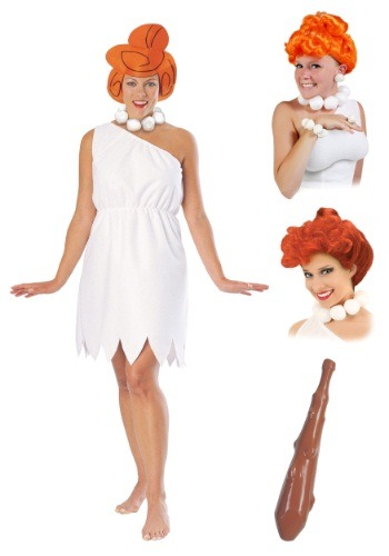 Women's Wilma Flintstone Costume Package