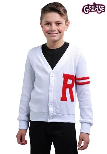 Grease Rydell High Boys Letterman Costume Sweater