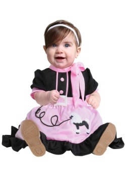 50's Poodle Skirt Infant Costume