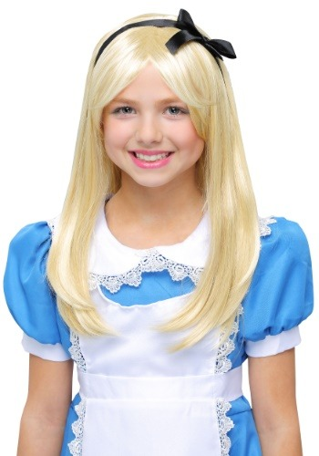 Deluxe Alice Child Wig